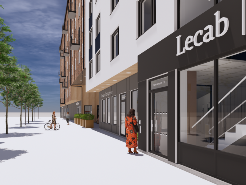Lecab Plaza - Hållbart studentboende på första barkett